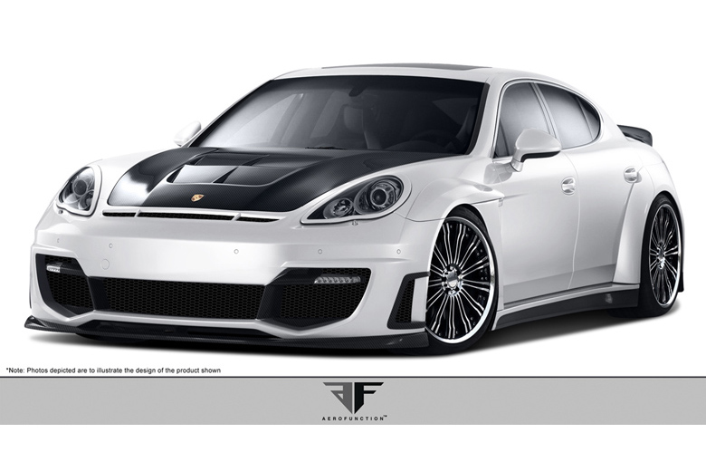 2012 Porsche Panamera Aero Function AF-1 Body Kit
