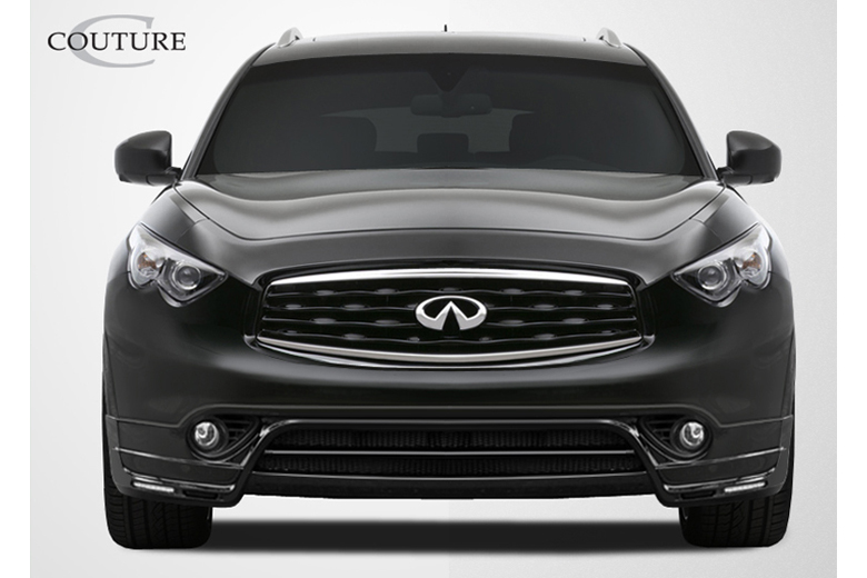 2010 Infiniti FX Couture MZ-S Front Lip (Add On)