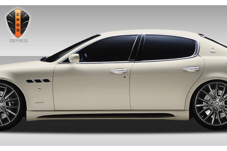 2006 Maserati Quattroporte Duraflex Eros Version 1 Sideskirts