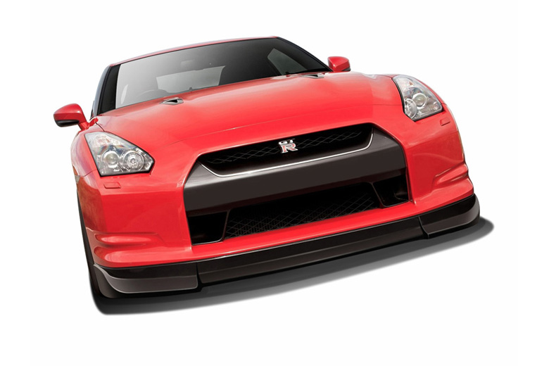 2011 Nissan GTR Aero Function AF-2 Front Lip (Add On)
