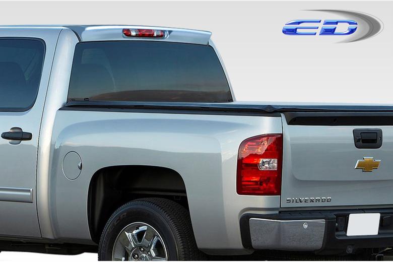 2008 Chevrolet Sierra Extreme Dimensions Diablo Spoiler