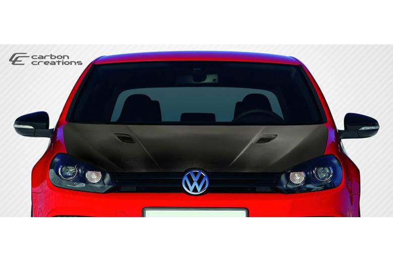 2010 Volkswagen GTI Carbon Creations RV-S Hood