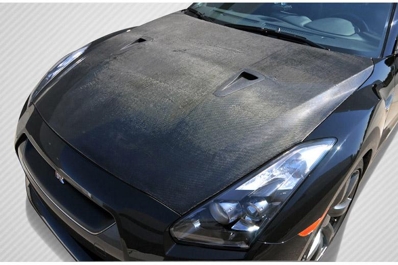 2009 Nissan GTR Carbon Creations Hood