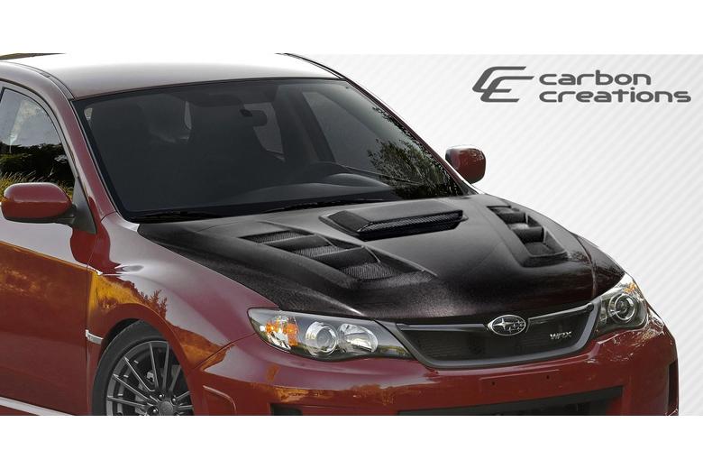 2013 Subaru WRX Carbon Creations A-Spec Hood