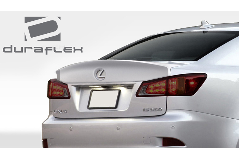 2009 Lexus IS Duraflex W-1 Spoiler
