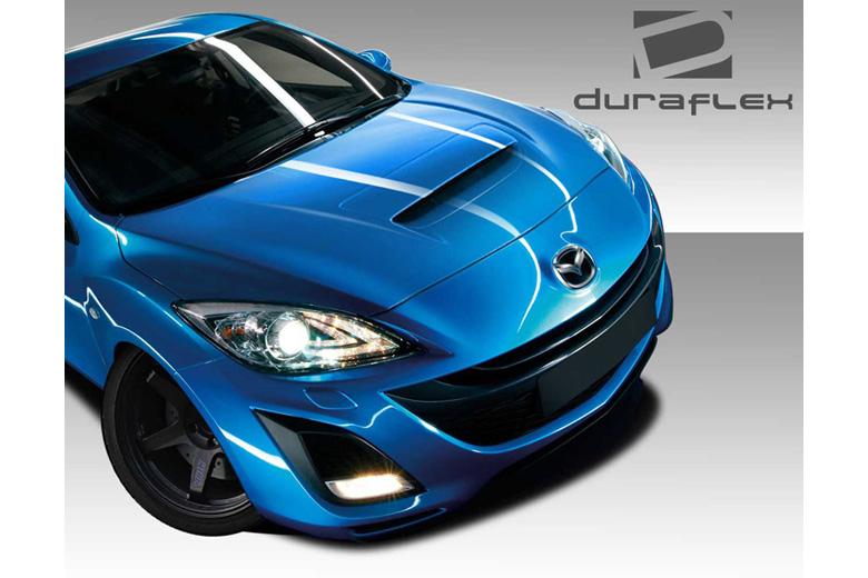 2010 Mazda Mazda 3 Duraflex M-Speed Hood