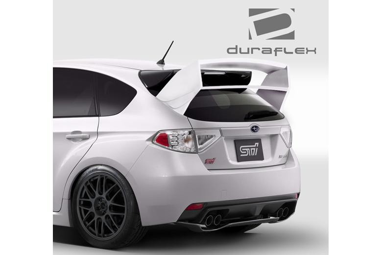2013 Subaru Impreza Duraflex WRC Look Spoiler