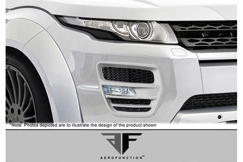 2012 Land Rover Evoque Aero Function AF-1 Fiberglass Light Housings