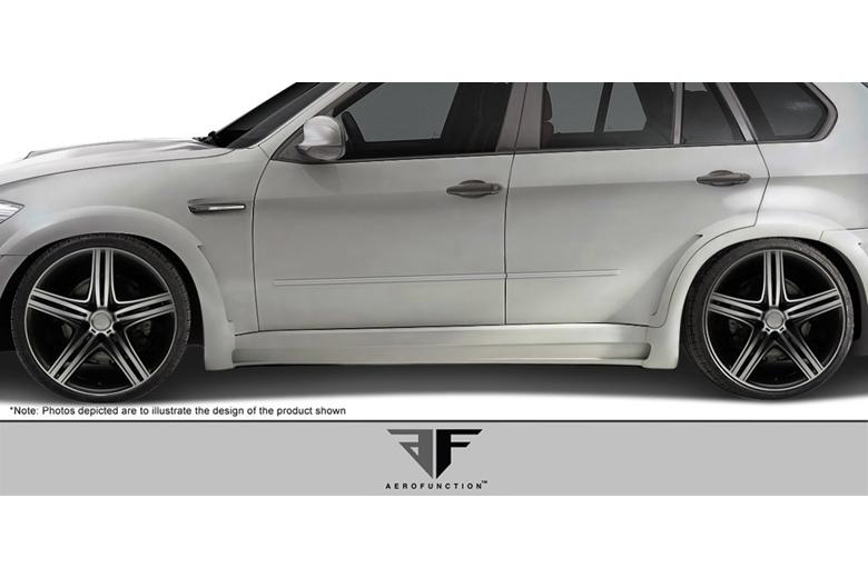 2013 BMW X5 Aero Function AF-1 Sideskirts