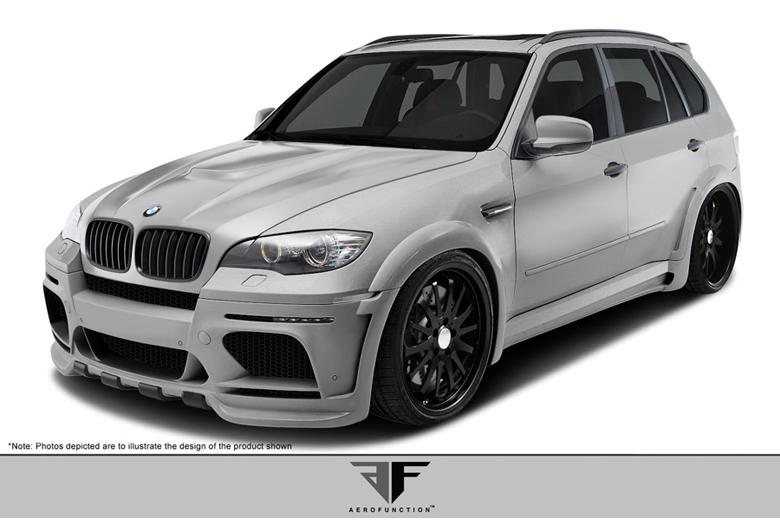 2013 BMW X5 Aero Function AF-1 Body Kit