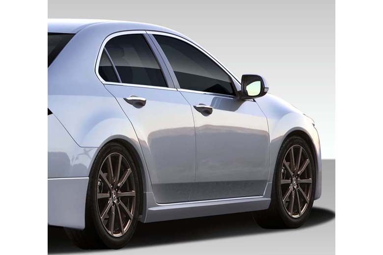 2010 Acura TSX Duraflex Type M Sideskirts