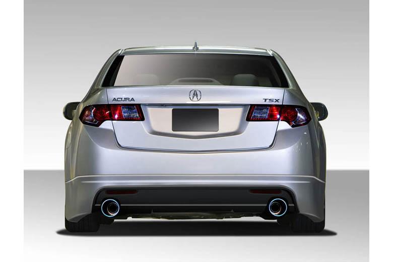 2010 Acura TSX Duraflex Type M Rear Lip (Add On)
