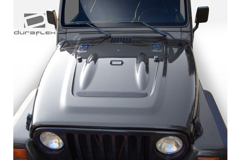 1999 Jeep Wrangler Duraflex Heat Reduction Hood