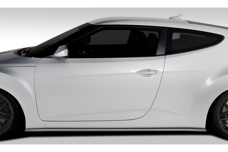 2013 Hyundai Veloster Duraflex GT Racing Sideskirts