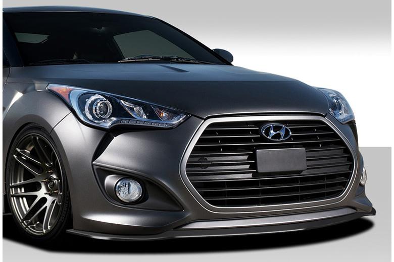 2013 Hyundai Veloster Duraflex GT Racing Front Lip (Add On)