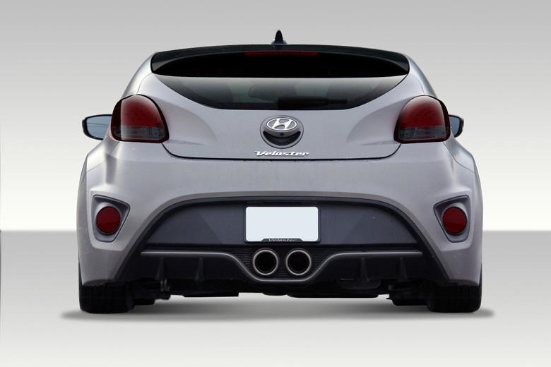 2013 Hyundai Veloster Duraflex Turbo Look Bumper (Rear)