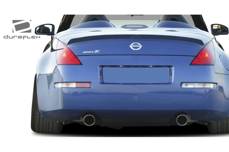 2003 Nissan 350Z Duraflex V-Speed Spoiler