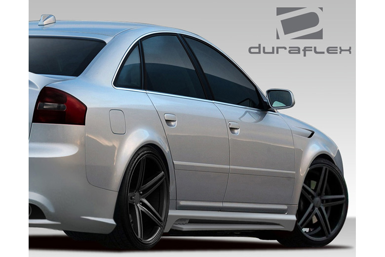 2002 Audi A6 Duraflex CT-R Sideskirts