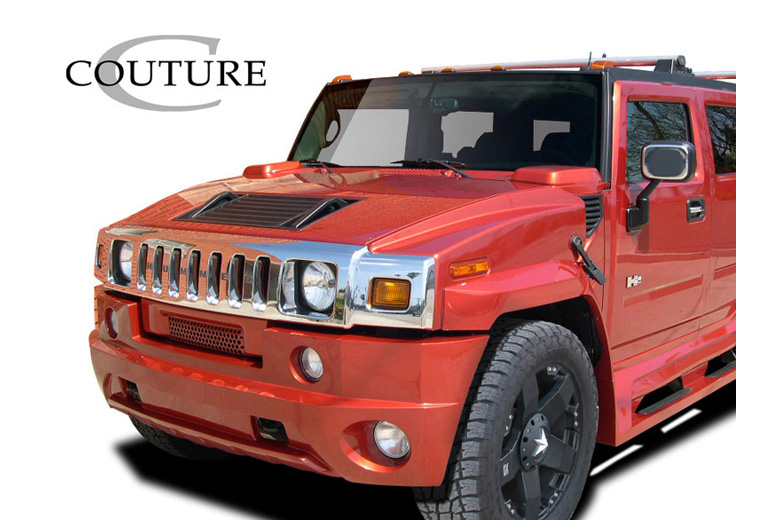 2004 Hummer H2 Couture Vortex Front Lip (Add On)