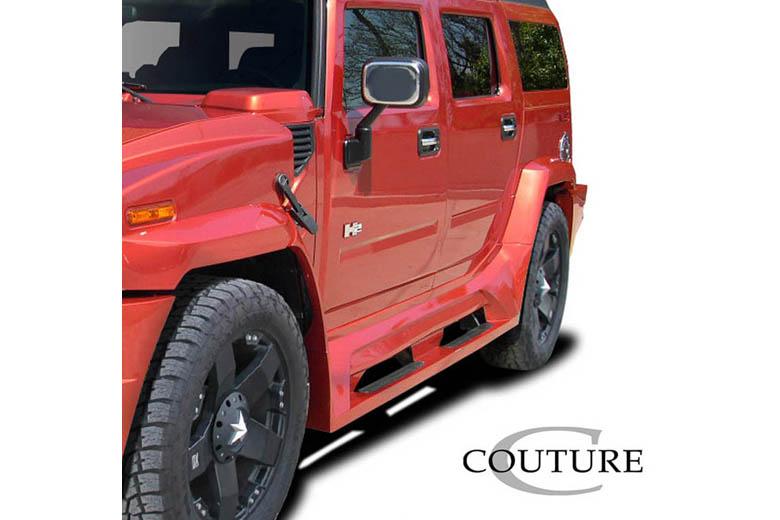 2004 Hummer H2 Couture Vortex Sideskirts