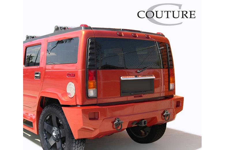 2004 Hummer H2 Couture Vortex Rear Lip (Add On)