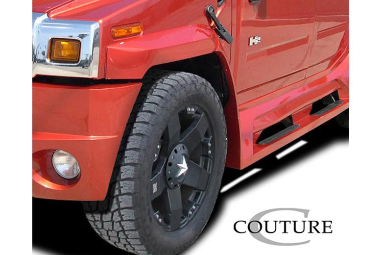 2004 Hummer H2 Couture Vortex Fender Flare