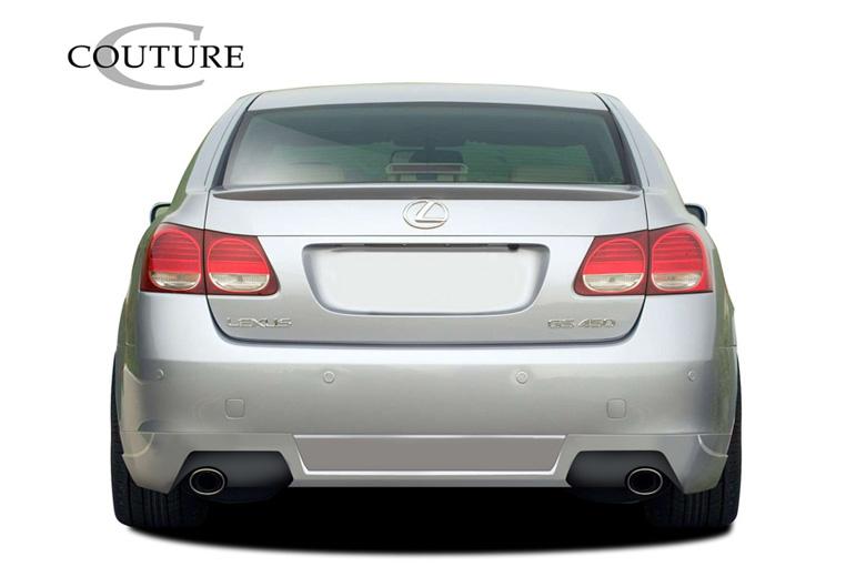 2008 Lexus GS Couture Vortex Rear Lip (Add On)