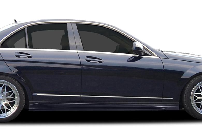 2010 Mercedes C-Class Couture Vortex Sideskirts
