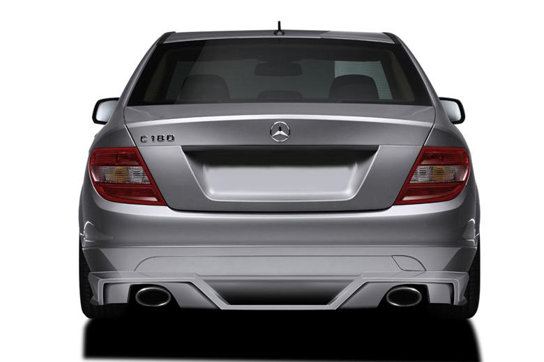2010 Mercedes C-Class Couture Vortex Rear Lip (Add On)