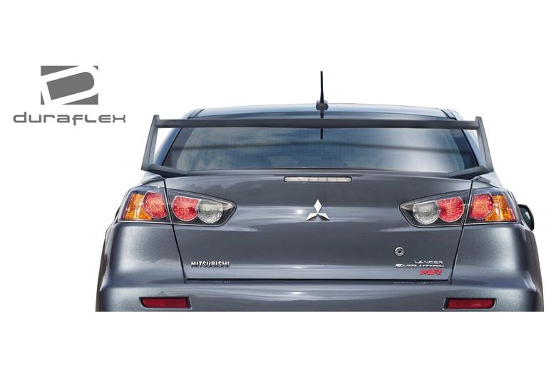 2012 Mitsubishi Evolution Duraflex Vortex Spoiler
