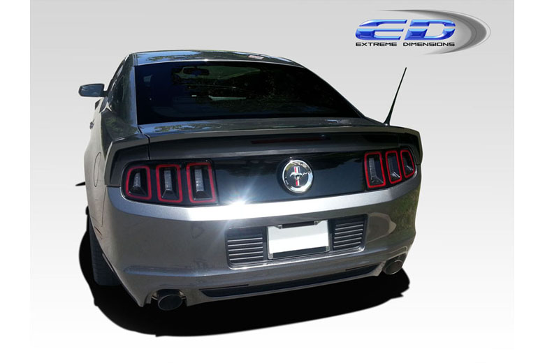 2011 Ford Mustang Extreme Dimensions SL-N Spoiler