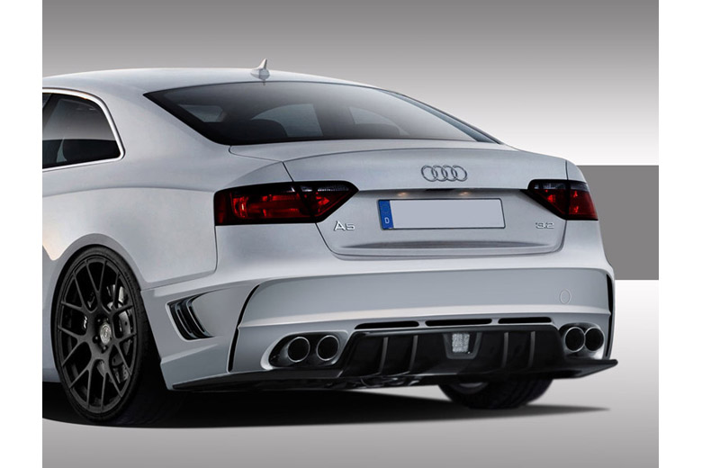 2009 Audi S5 Duraflex Eros Version 1 Bumper (Rear)