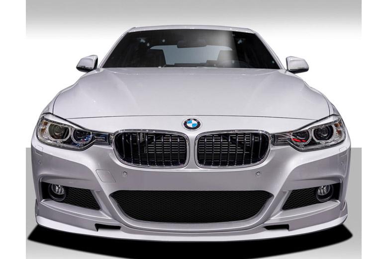 2014 BMW 3-Series Duraflex Eros Version 1 Front Lip (Add On)