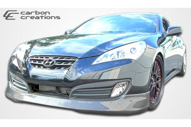 2012 Hyundai Genesis Carbon Creations MS-R Front Lip (Add On)