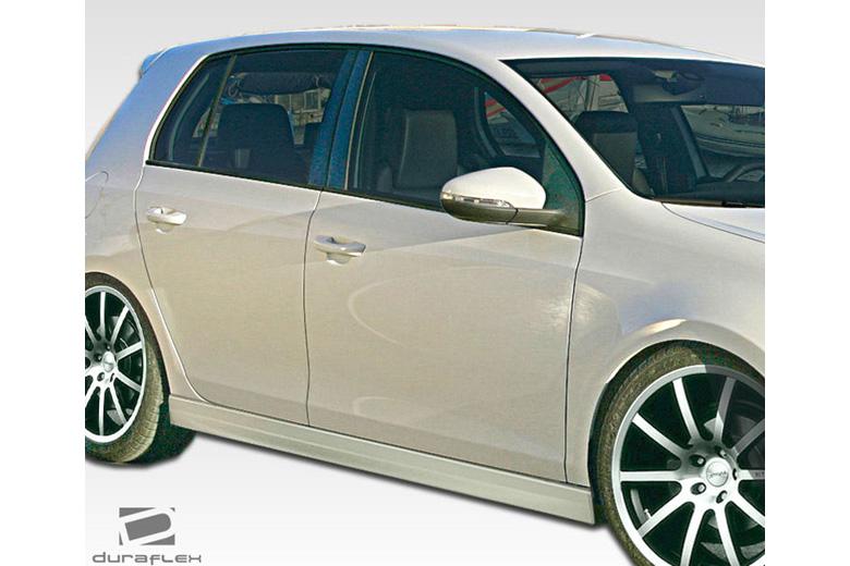 2010 Volkswagen GTI Duraflex R Look Sideskirts