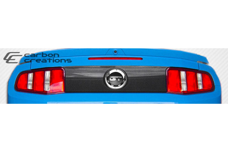 2010 Ford Mustang Carbon Creations Hot Wheels Trunk Panel