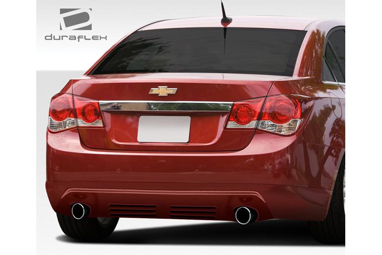 2014 Chevrolet Cruze Duraflex Racer Rear Lip (Add On)