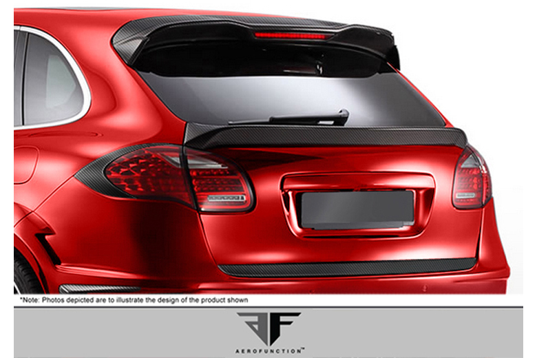 2011 Porsche Cayenne Aero Function AF-1 Taillamp Covers