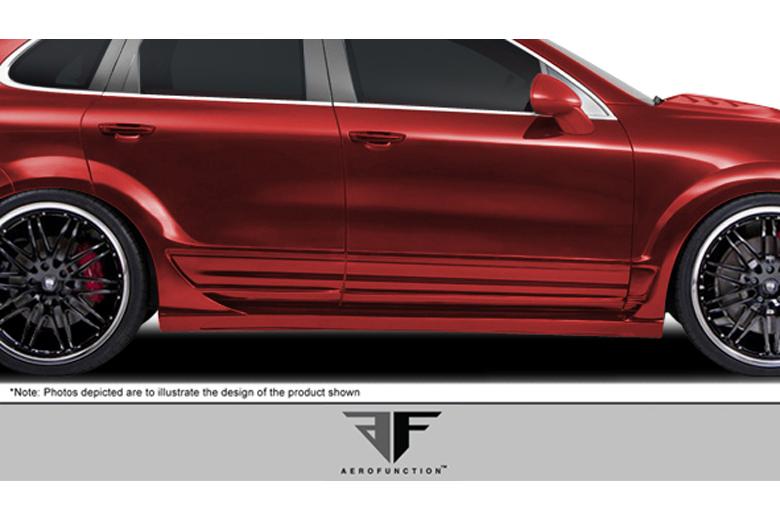 2013 Porsche Cayenne Aero Function AF-1 Front Door Moldings