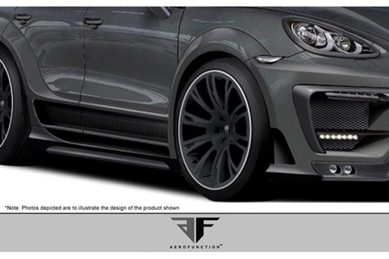 2013 Porsche Cayenne Aero Function AF-1 Fender