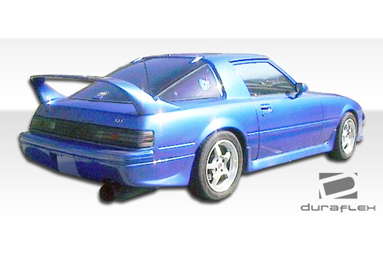1984 Mazda RX-7 Duraflex M-1 Rear Lip (Add On)