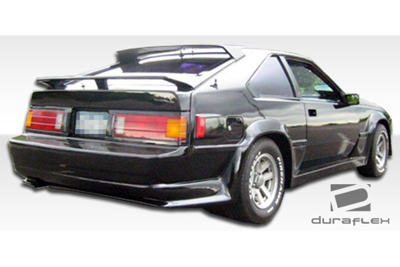 1984 Toyota Supra Duraflex F-1 Rear Lip (Add On)