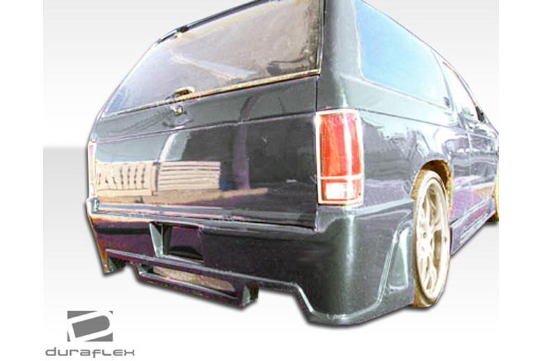 1990 GMC Jimmy Duraflex R34 Bumper (Rear)