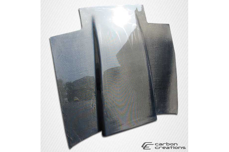 1985 Nissan 300ZX Carbon Creations Cowl Hood