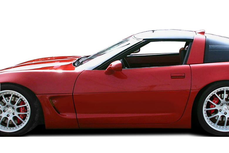 1989 Chevrolet Corvette Duraflex C5 Conversion Sideskirts