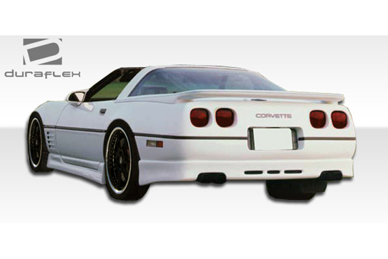 1989 Chevrolet Corvette Duraflex GTO Rear Lip (Add On)