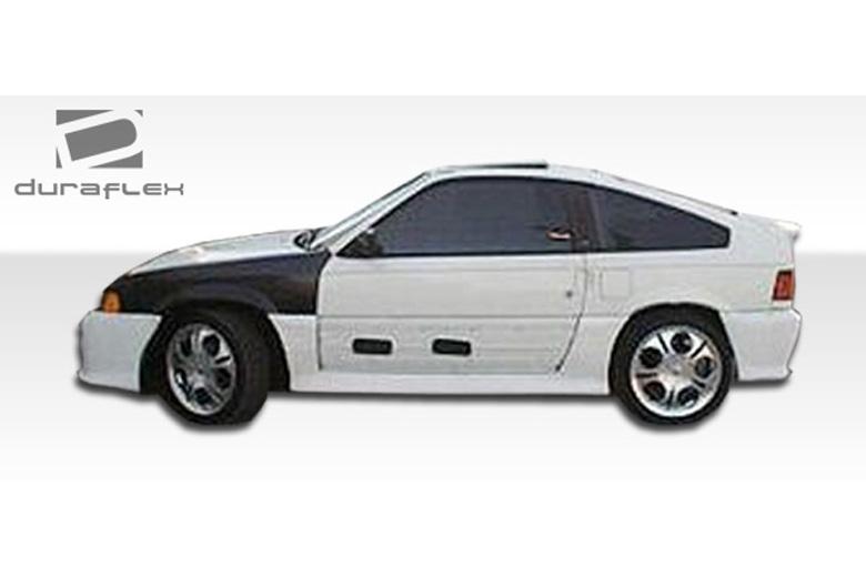 1984 Honda CRX Duraflex Type M Sideskirts