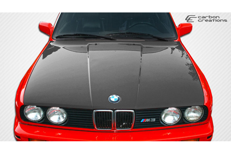 1985 BMW 3-Series Carbon Creations Hood