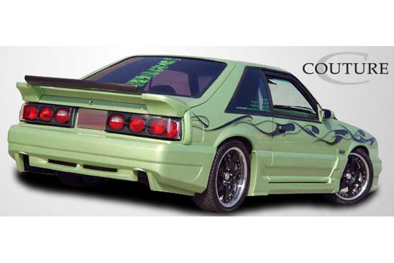1992 Ford Mustang Couture Demon Bumper (Rear)