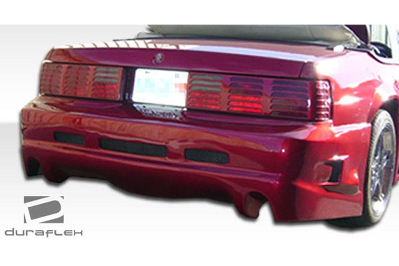1983 Ford Mustang Duraflex GTX Bumper (Rear)
